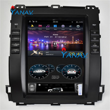 10.4 6 Core Android Car GPS Navigation For-LEXUS GX470 2004-2009 Tesla Style Unit Carplay Multimedia Player Car Dvd Player 9ips android 8 1 car radio stereo head unit for toyota land cruiser prado 120 lexus gx470 2004 2009 no cd player buit in dsp