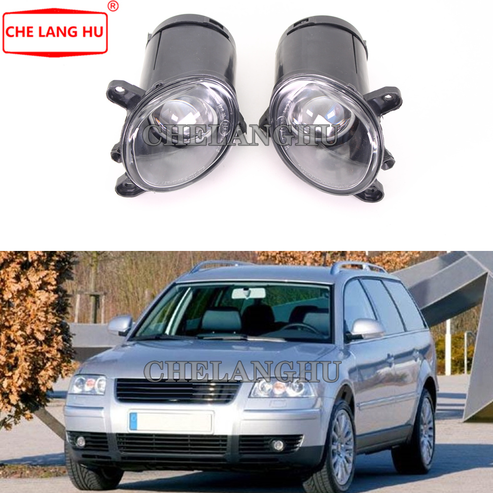 For VW Passat B5 Variant Wagon 2000 2001 2002 2003 2004 2005 Car-styling Front Fog Lights Fog Lamp Without Bulbs
