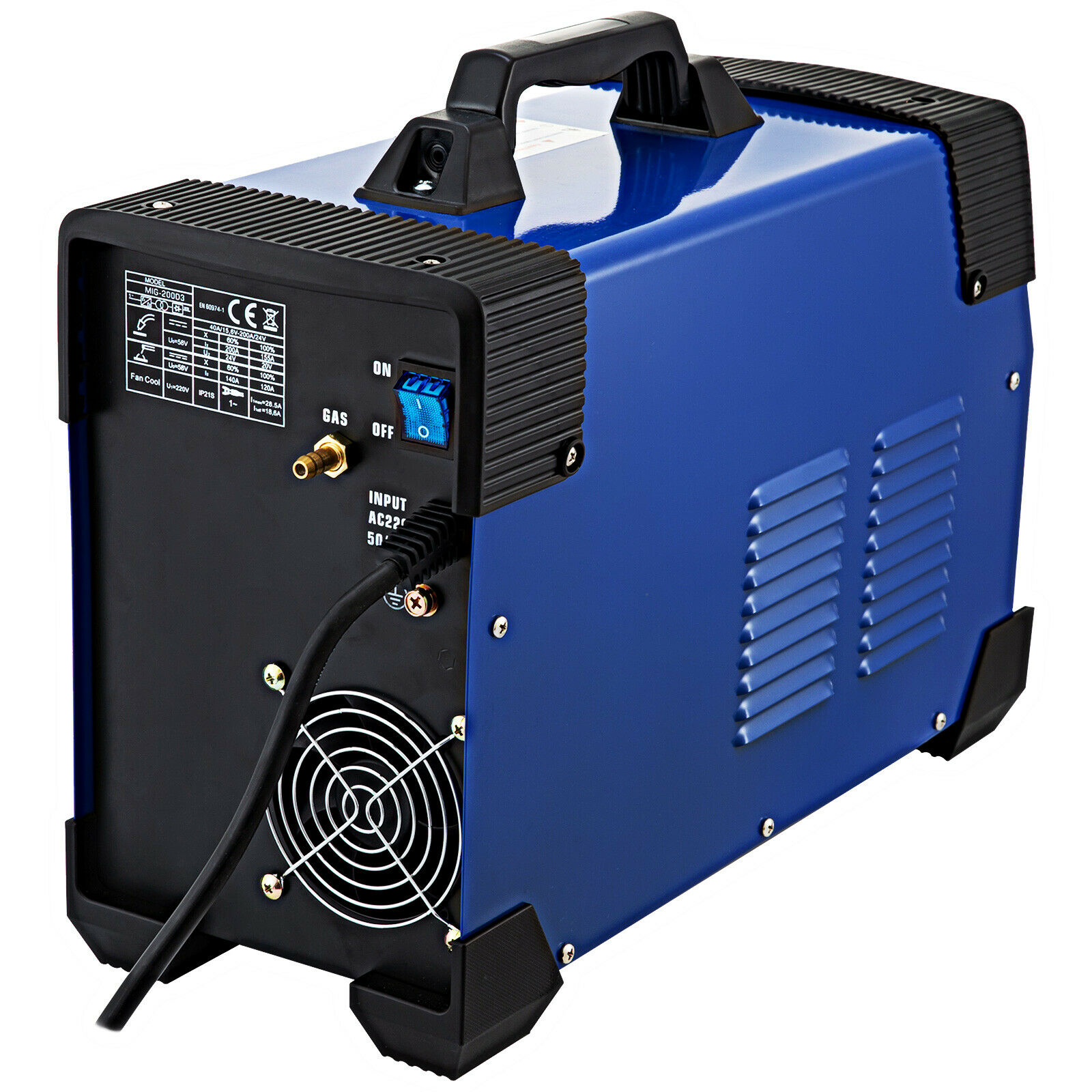 5 In 1 MIG / MAG / TIG / FLUX / MMA Inverter Welder 200Amp Combo Welding Machine With Free Shipping To EU