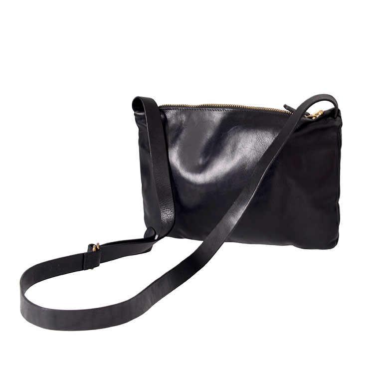 Original Retro de cuero Real para hombre pequeño bolso de mensajero de lujo de alta calidad de cuero de vaca hombre Cruz bolso de hombro moda clásico Sling Bolsa