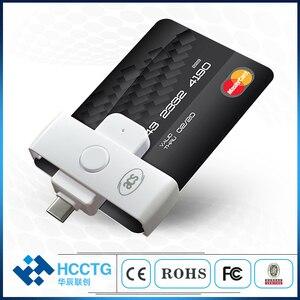 Image 1 - Mini ISO 7816 EMV IC Chip USB Micro B/ Type C/ Type A Smart Card Reader ACR38/39U Series