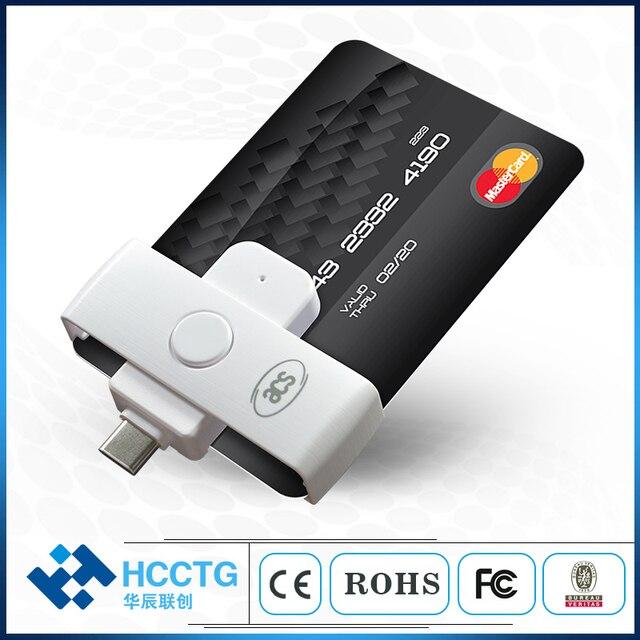 Mini ISO 7816 EMV IC Chip USB Micro B/ Type C/ Type A Smart Card Reader ACR38/39U Series