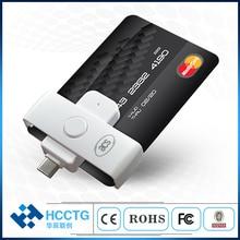Mini ISO 7816 EMV IC Çip USB Mikro B/Tip C/Akıllı kart okuyucu ACR38/39U serisi