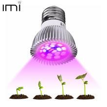 Lâmpada led de espectro completo cfl, lâmpada e27 e14 mr16 gu10, para áreas internas, sistema de hidroponia ir, para jardim 110v 220v
