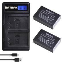 Batmax 2 stücke LP-E17 LPE17 Batterie + Neue LCD Dual USB Ladegerät für Canon EOS M3 M5 M6 750D 760D t6i T6s 800D 8000D Kuss X8i