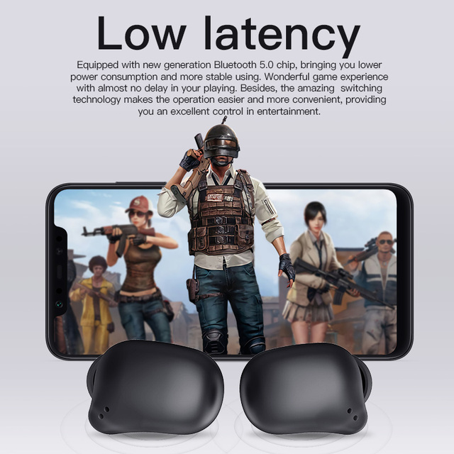 Bluetooth earphone Bluedio T-elf 2 Sports Headset with charging box 4
