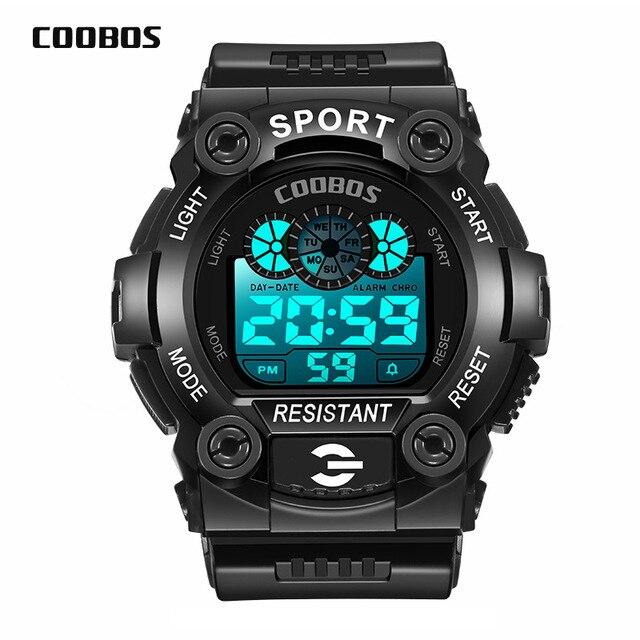 coobos Sports Watch Men Digital