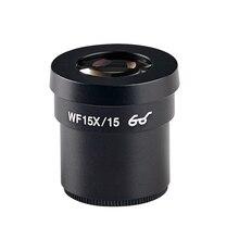 WF15X окуляр одна пара для стерео микроскопа широкое поле Высокий Охват 15 мм WF15X/15 высокая точка глаза