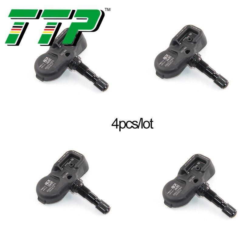 TTP 4PCS 42607-06020 TPMS Car Tire Pressure Sensor Monitoring Valve System For Toyota Avalon Camry Corolla Yaris Rav4 315MHZ