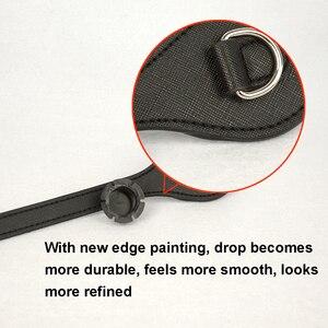 Image 2 - Tanqu Asas largas y cortas para bolso O con borde pintado, hebilla en D, manijas de piel sintética con punta en forma de lágrima redonda, para OBag, piezas para bolsos de cinturón