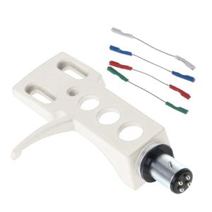 Image 5 - Turntable Headshell Mount Universal LP Phono Cartridge Replacement Phonograph Head Holder Stylus Lead Wire