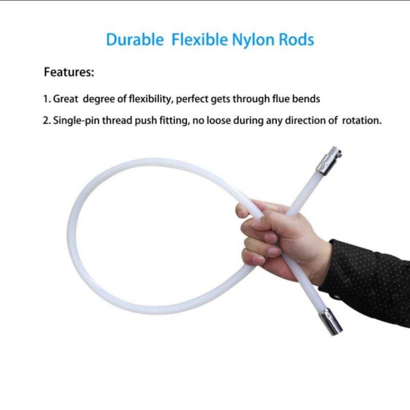 Нейлоновая Щетка с 6 шт. длинной ручкой гибкие трубы стержни для дымохода чайник домашний уборщик набор чистящих средств - 6