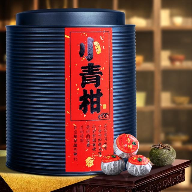 500G Xinhui Xiaoqing (Green Snake) Mandarin Orange Court Tangerine Peel Pu'er Tea Small Citrus Tangerine Pu'er Cooked Tea