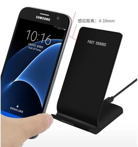 Image 2 - Qi Wireless Charger For Samsung Galaxy A80 A70 A60 A50 A40 A30 A20e A20 Fast Wireless Charging Dock USB Charger Phone Accessory