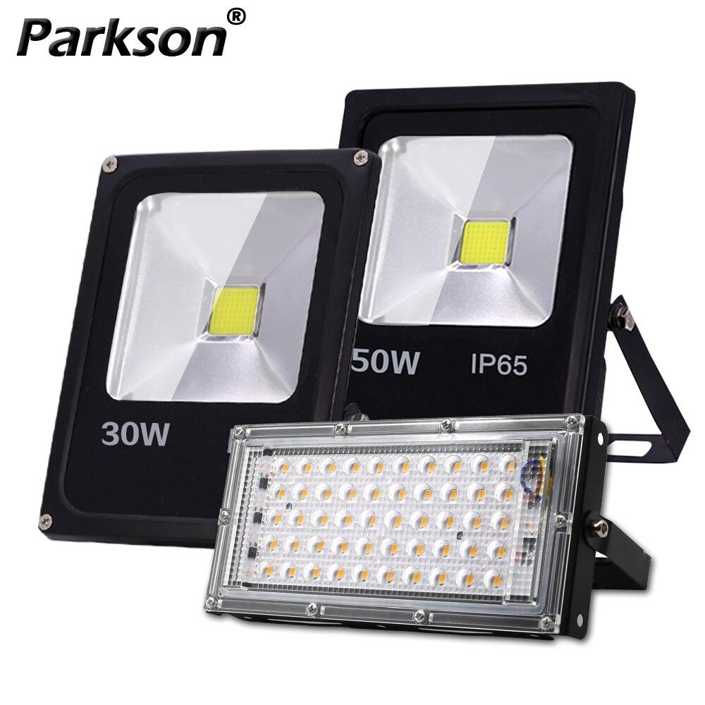 モーションセンサー Led フラッドライト屋外スポットライト 220V 10 ワット 30 ワット 50 ワット LED 投光器 IP65 防水プロジェクター組み合わせストリート
