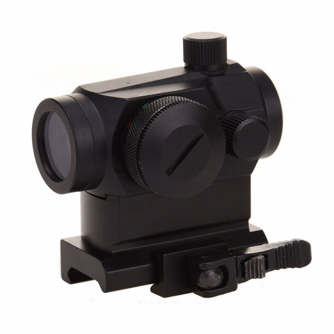 caca holografica red dot scope 1x24 desmontagem rapida 20mm otica picatinny ferroviario vista para fotografar