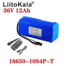 LiitoKala 36 فولت 12Ah 18650 بطارية ليثيوم أيون عالية الطاقة XT60 التوصيل سيارة توازن دراجة نارية دراجة كهربائية سكوتر BMS + شاحن