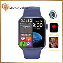 Montre connectée HW22 pour IOS et Android, bracelet pour hommes et femmes, écran de 1.75 pouces, résolution de 320x385, bouton de rotation, Bluetooth, IWO 13