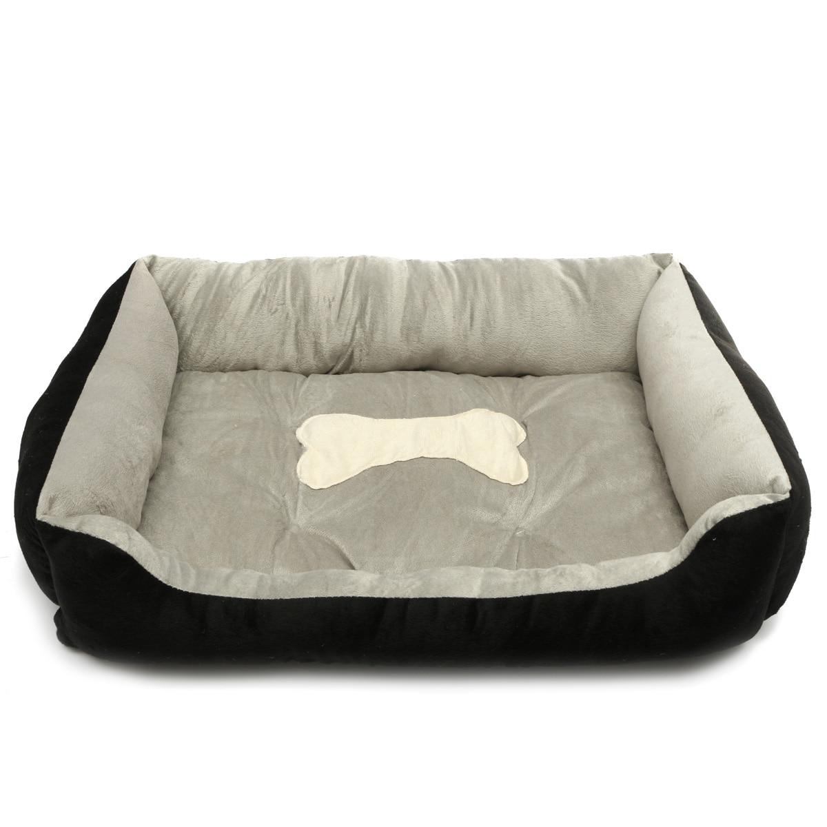 Bed For Dogs Warm Flannel Warm Waterproof Bottom Soft Fleece Warm Cat House Petshop Puppy Mats Kennel Play Rest Sleep Cushion 13