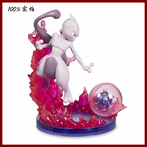 Image 4 - Gengar Mewtwo anime cartoon actie toy figures Collection model speelgoed Auto decoratie speelgoed pks