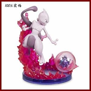 Image 4 - Gengar Mewtwo Аниме фигурки героев мультфильмов Коллекция Модель игрушки украшение автомобиля игрушки pks