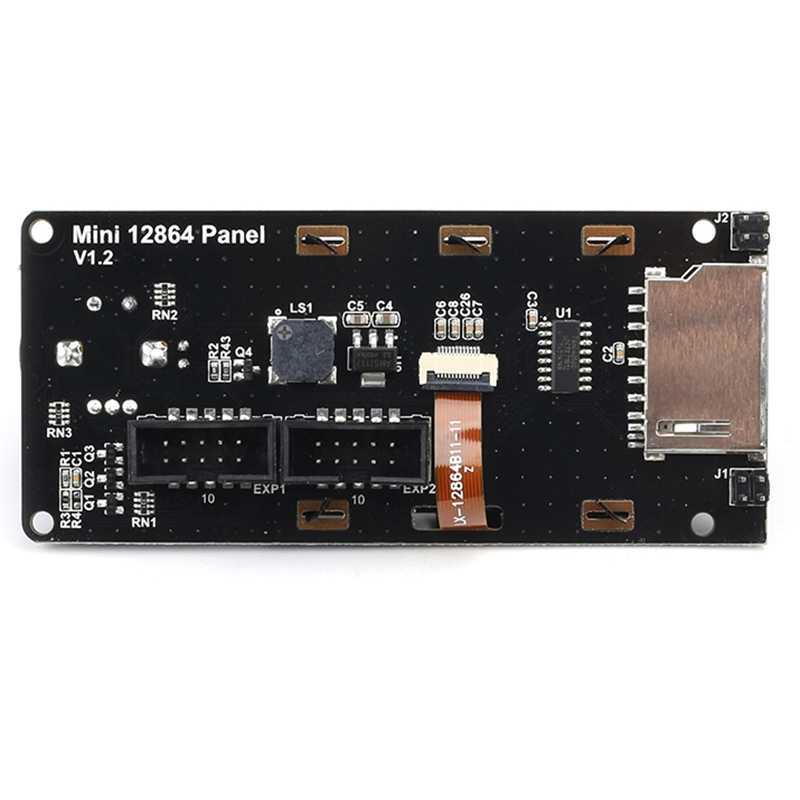 3D Drucker Lcd Screen Mini 12864 Display Ramps1.4 Intelligente Steuerung Lcd Display Sd-karte Eingelegt Für 3D Drucker Marlin Diy acc