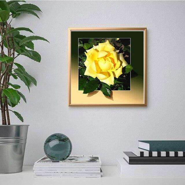 Фото diy 5d алмазная живопись цветок алмазная вышивка мозаика стразы цена