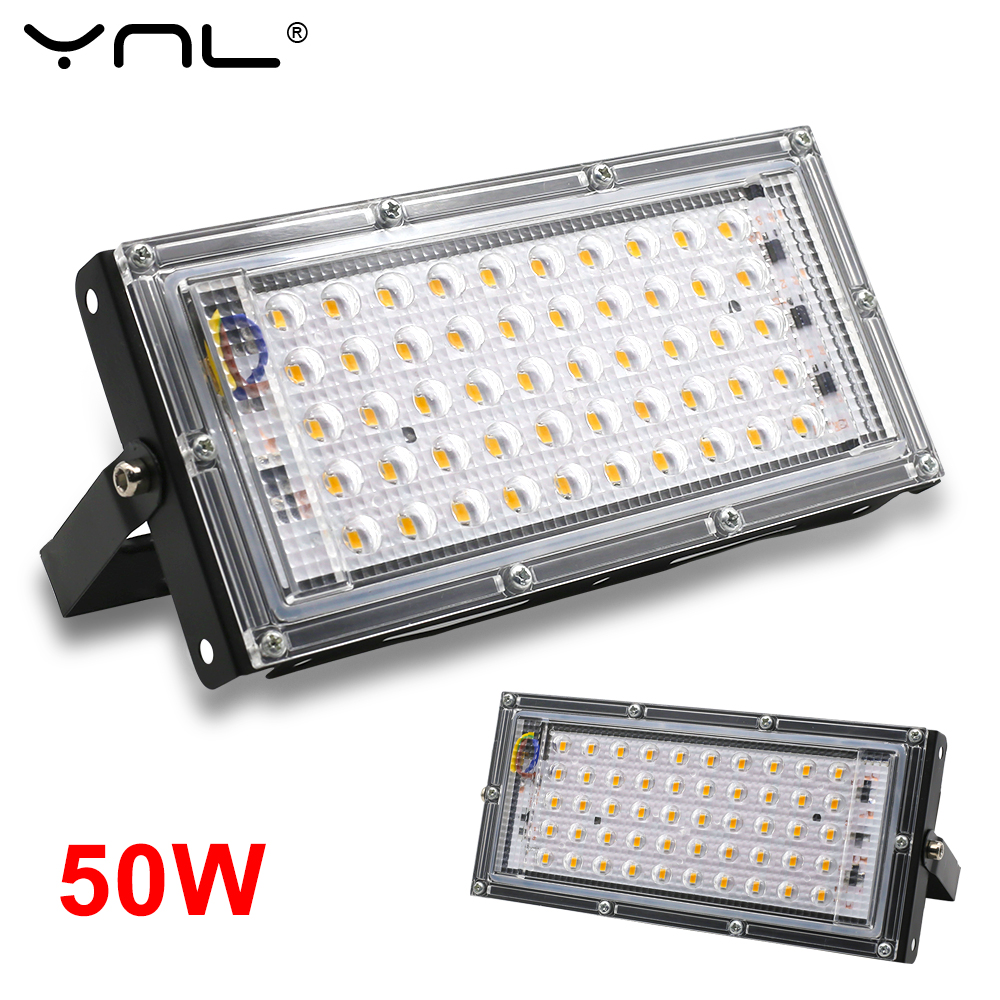 50W LED Flood Light Waterproof IP65 AC220V 240V Outdoor Floodlight Spotlight Garden Lighting Led Reflector Projector Street Lamp