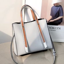Genuine Leather Handbag Large Capacity Casual Colourful Zipper Handbag Minimalist Fashion Bolsos De Mujer Bag Women DE50ST