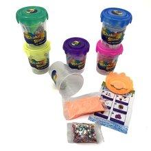 купить New soft Clay Magic Sand Slime Other Tool Toys Supplies Baba Powder 80ml Glitter the DIY Lizun With Drool Box Add Water Baba Kit по цене 64.48 рублей