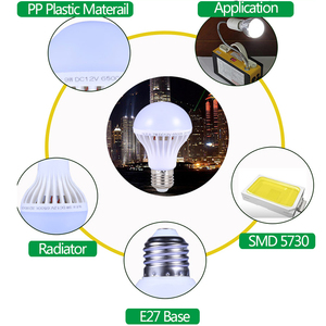 Image 3 - LED מנורת DC 12 V E27 Led הנורה 5W 7W 9W Lampada 12 וולט חיצוני אור הלילה דיג תליית מחנה אור חירום קר לבן