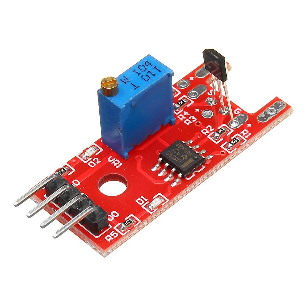 For KY-024 4pin Linear Magnetic Switches Speed Counting Hall Sensor Module For Arduino