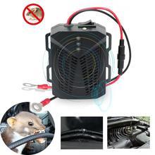 Новый 12V анти-отпугиватель крыс ультразвуковой отпугиватель для мышей для отпугивания мышей для автомобиля нетоксичный сохранить против г...