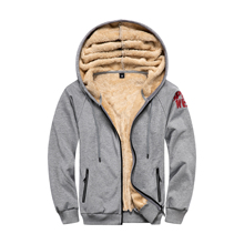 Men Coat Jacket Hoodies Warm Plus-Size Casual-Design Winter 4XL Solid Tracksuit Outwear