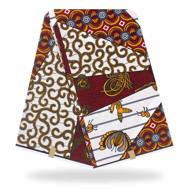 AnkaraAzulTela Batik Africano Tela de algodón por yardaimpresiones de cera africano
