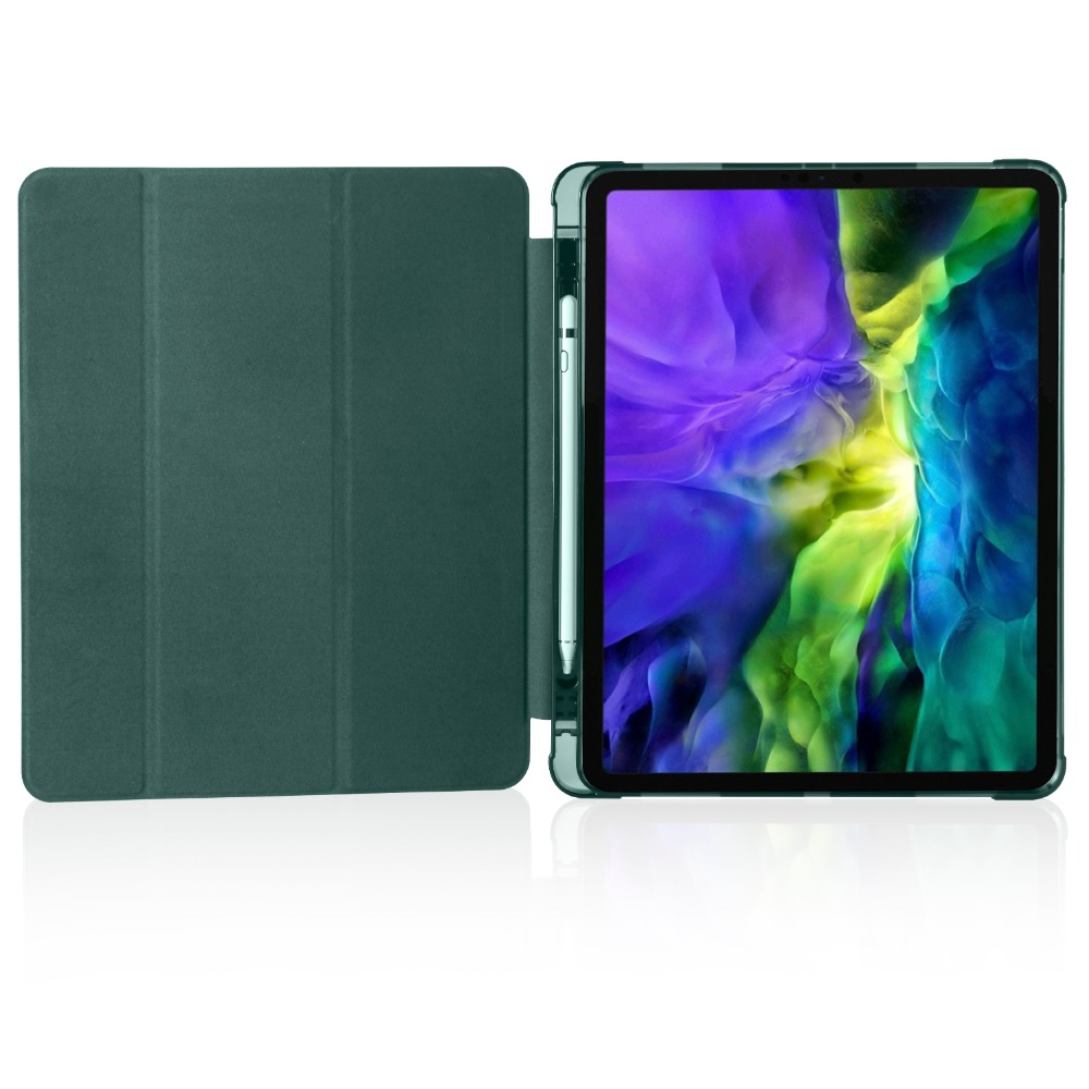 For Shell iPad 12 Holder Cover iPad 9 Apple with Case Pencil for Soft Pro 2020 TPU 2018