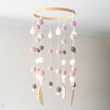 Dream Catcher Nordic Decoration Home Wind Chime Bed Bell Childrens Girls Room Decor Living Shop Baby Props