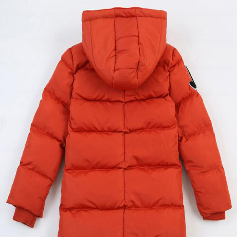 New Winter Clothing Boys 4 Keep Warm 6 Children 8 Autumn Hooded 10 Coat 12 Middle Aged 14 Year 15 Pile Thicker Cotton Jackets 4