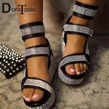 Doratasia/Большие размеры 35 43 новые Брендовые женские сандалии