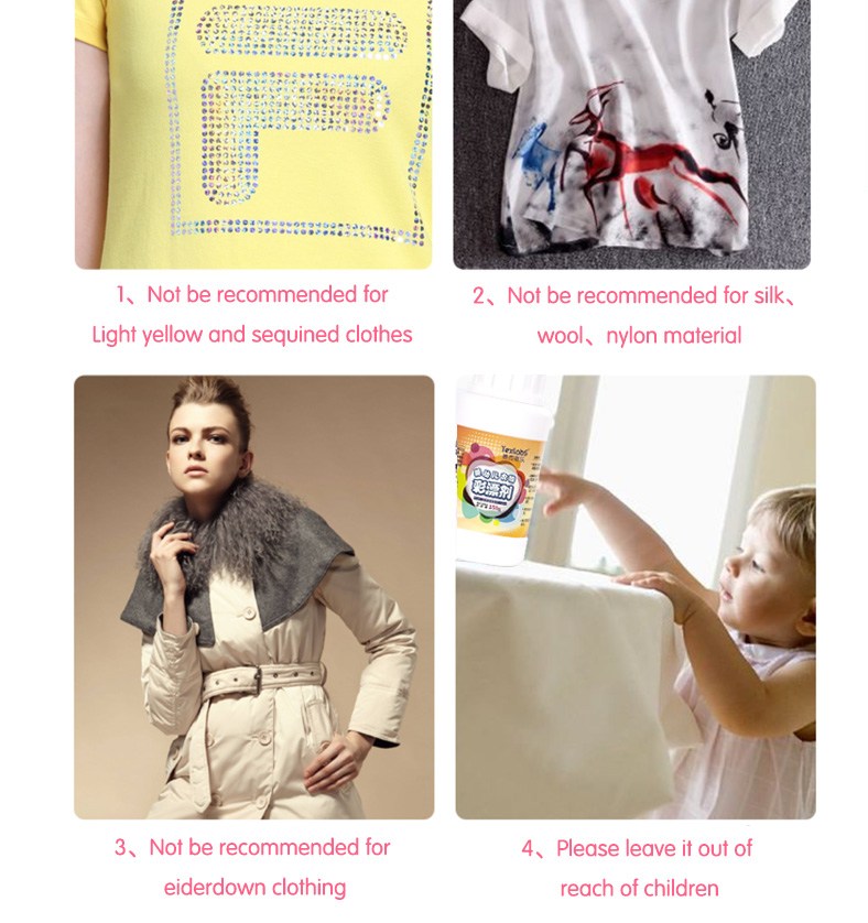Detergent for baby clothes
