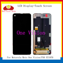 Original For Motorola Moto One Vision LCD One Vision Display Touch Screen Digiziter Assembly For Moto P50 lcd XT1970 Replacement все цены