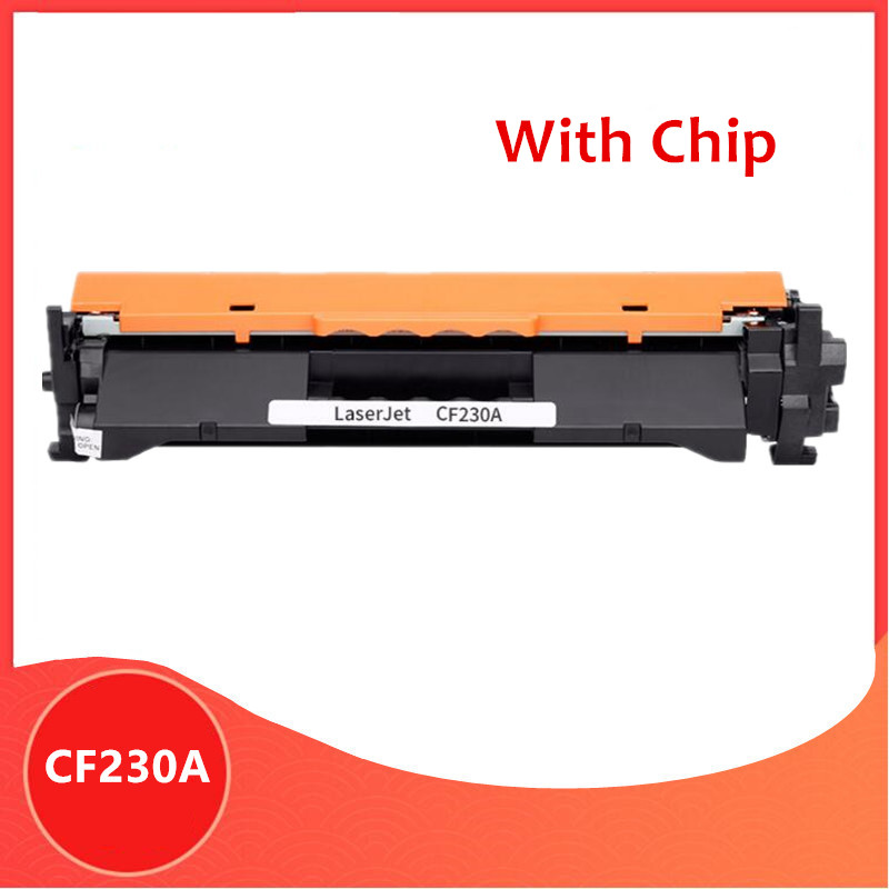 With Chip Compatible For HP CF230A 30A Cf230 Toner Cartridge For Hp LaserJet M203d M203dn M203dw MFP M227fdn M227fdw