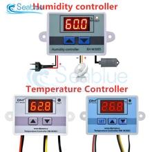 Hygrometer Aquarium-Incubator Temperature-Humidity-Controller Digital W3005 110-220V