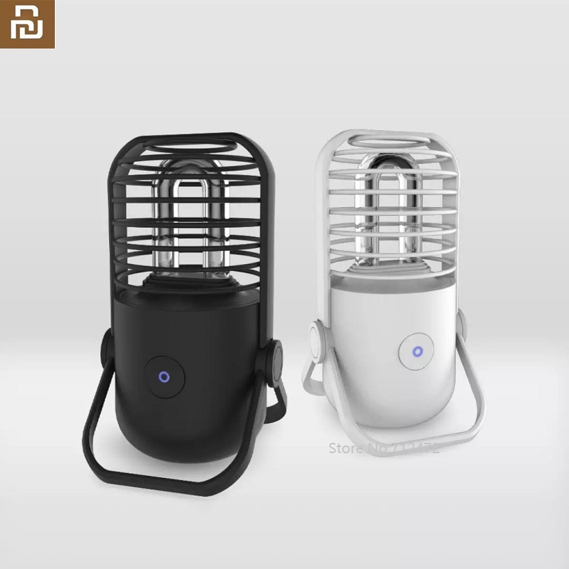Xiaomi UVC Germicidal Sterilization Ozone Lamp Bulb Ultraviolet Light Disinfect Bacterial Kill Mites Deodorizer USB Charging