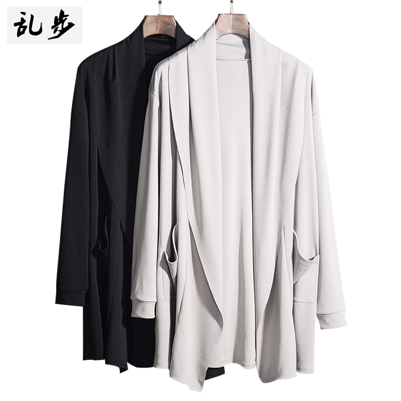 The new spring 2020 cardigan male long sleeved youth pure color thin section of cultivate one's morality leisure smooth sweater(China)