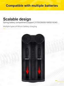 Image 4 - Voxlink 18650 Batterij Oplader Smart Opladen 2 Slot 3.7V 26650 18350 32650 21700 26500 Mh/Ni Cd oplaadbare Batterij Oplader