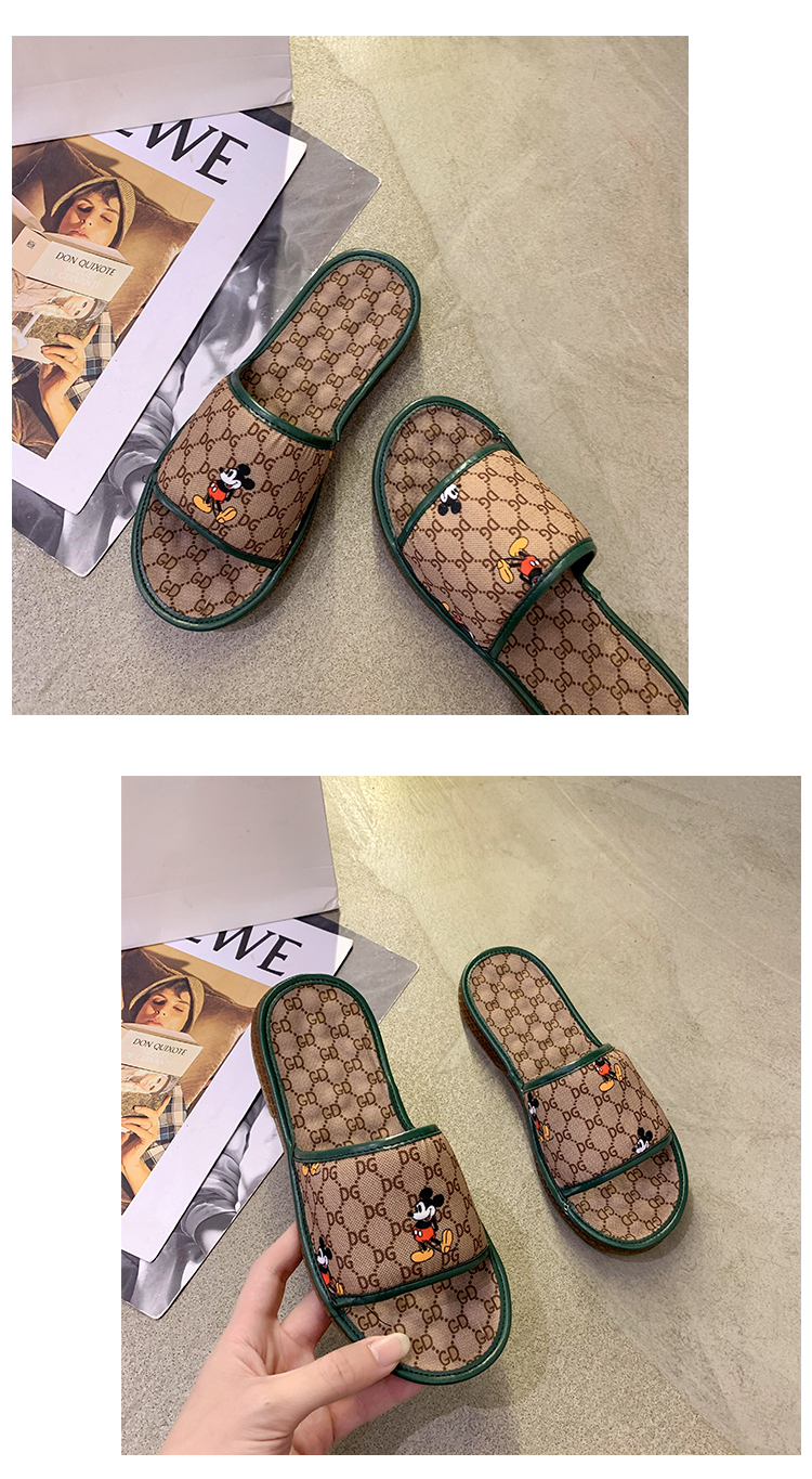 Women Slippers Cotton Summer 2020 Outdoor Flat Slipper Shoes Ladies Fashion Slides Casual Wear Fast Shipping