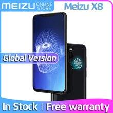 Глобальная версия Meizu X8, 4 ГБ, 64 ГБ, 128 ГБ, 4G, LTE мобильный телефон, Восьмиядерный процессор Snapdragon 710, экран 6,15 дюйма, 2220x1080 P, аккумулятор 3210 мАч