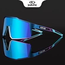 Kapvoe ciclismo óculos de sol mtb bicicleta óculos photochromic uv400 polarizados mulher homem ciclismo óculos