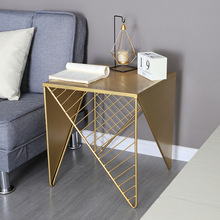 Hot saleing Ins Nordic tieyi bedroom net tea living room sofa bedside small table family side